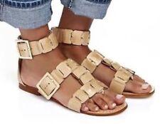 Mimco Vanilla Venus Gladiator Flats Shoes Sandals Size 40 or 9