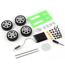 Mini Solar Powered Toy DIY Car Kit Children Educational Gadget Hobby Funny BL