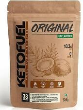 KETOFUEL Keto Oil Powder For Coffee & Shakes(Unflavored) 500 gm Free Ship
