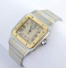 Cartier Santos Galbee Herren Uhr Stahl/Gold 187901 Papiere