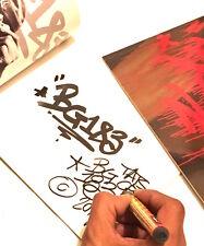 Original signed Book BG183 TATsCru Collector edition Urban Graffiti street art