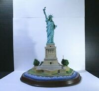 Rare Danbury Mint The Statue Of Liberty w/ G.W Bush quote from 9/20/2001 ~9 Tall