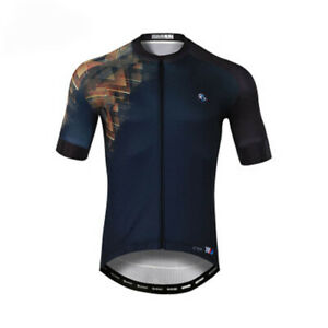 Men's Cycling Jersey Clothing Bicycle Sportswear Short Sleeve Bike Shirt J108