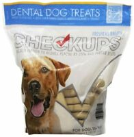Checkups Dental Dog Treats 24ct for dogs 48 oz, Freshen Breath & Gluten Free