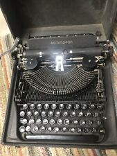 antique Remington Rand typewriter