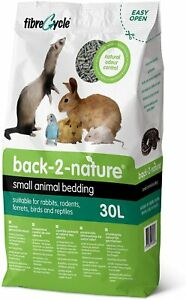 Back To Nature 30L Small Animal Bedding Litter Rabbit Guinea Pig Bird Reptile