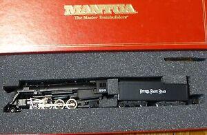 Mantua HO #383-070 Nickel Plate Raod Light Mikado #590 (Run #129) Steam Loco NEW