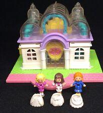 Polly Pocket Mini 💛 1994-light-up BRIDAL Salon wedding SKIRT 1.1