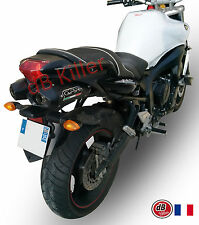 SILENCIEUX GPR FURORE ALU NOIR YAMAHA FZ6 FAZER S1 S2 2004/13
