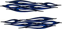 "Boat Car Truck Trailer Motorcycle Graphics Decal Vinyl Stickers Flames 12""X 2"""