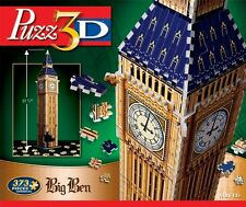 WINNING SOLUTIONS PUZZ 3D JIGSAW PUZZLE BIG BEN, LONDON, UNITED KINGDOM 373 PCS