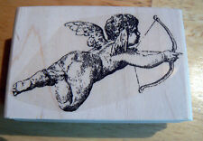 P15 Cupid rubber stamp WM NEW 3x2""