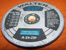 walter zip 4 inch cut off wheel a 24 zip fab shop 1 pc