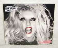 Lady Gaga Born This Way Judas Taiwan Ltd 2-CD w/BOX