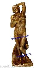 Statuette en bronze l'ESCLAVE MOURANT de MICHEL ANGE statue figurine déco art