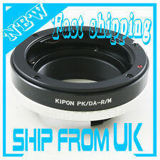 Kipon Pentax K Mount PK Da AF Lens to Ricoh GXR A12 Camera Adapter Leica M Mount