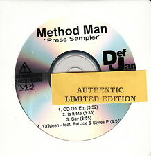 method man limited edition cd wu-tang clan