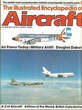 Illustrated Encyclopedia of Aircraft #37 Cutaway Douglas C-47 Dakota IV