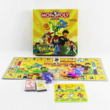 1x Cute Party Family Board Game Pocket Monster Pokemon MONOPOLY 2~4 Players Toy