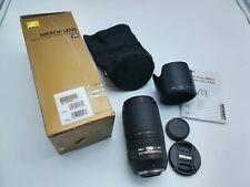 Zoom Nikon AFS 70 300 mm VR f 4.5 5.6 G ED Autofocus