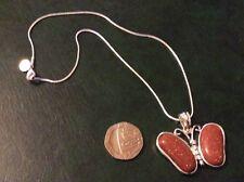Sun sitara 925 silver pendant with a 925 silver snake chain app16inch long