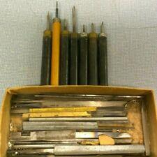 Tool Lot - Engraving Tools Assorted Watchmaker Graver Bench Repair