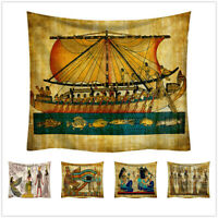 Ancient Egyptian Egypt Tapestry Wall Hanging Home Dorm Decor Bedspread Throw Art