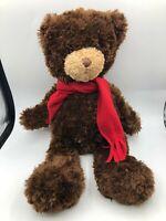 Official Gund Bradley The Borders Bear Brown Teddy Plush Soft Stuffed Toy Animal