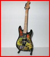 IRON MAIDEN GUITARE MINIATURE - EDDIE KILLERS! Dave Murray Heavy Metal Hard Rock