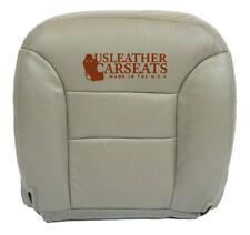 1995-1999 1998 1997 GMC Sierra Yukon - Passenger Bottom Leather Seat Cover Gray