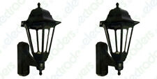 2 x ASD CL/BK100C Coach Lanterns with Photocell Dusk to Dawn Sensors - (Black)