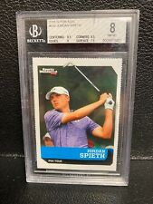 Jordan Spieth 2015 S I For Kids 🔥Rookie BGS 8 NM-MT 8.5 CornersGolf / PGA Puma