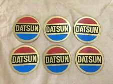 Vintage DATSUN Emblem 6 Pcs /// NEW