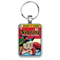 Sabrina The Teenage Witch Giant #1 Cover Key Ring or Necklace Archie Comics