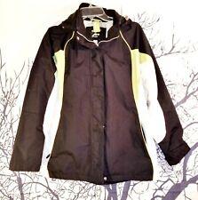 ATHLETECH Womans BLACK Parker LINED Jacket SKI Coat Removable Hood size Sm