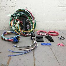 1974 Down Jeep CJ Series Wire Harness Upgrade Kit fits painless terminal compact