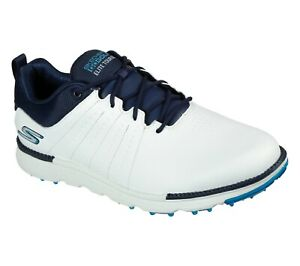 Skechers GO GOLF Elite - Tour SL 214004 Waterproof Golf Shoe - White/Navy