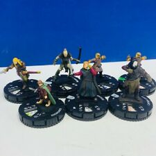 Heroclix miniature mixed 7 figure lot comic game neca Lord Rings Boromir Frodo 2
