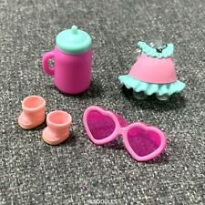clothes ouffit glasses shoes For BABYDOLL Lol Surprise Doll Series3 accessory