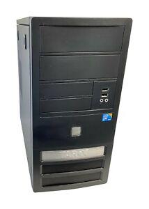 Tarox Business 5000 PC Intel Core 2 Duo E7500 2x 2,93GHz 4GB RAM 250GB Computer
