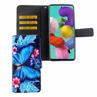 Samsung Galaxy A51 Case Phone Cover Protective Case Flip Blau