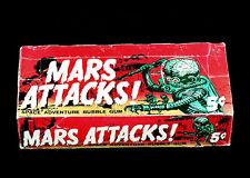 Mars Attacks 1962 Topps  Display Box 5x7 color photo
