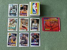 1998 1999 NBA BASKETBALL `98-`99 PANINI - set (ALL 156 stickers) + sealed packet