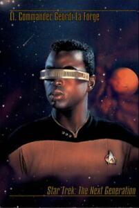 1993 Star Trek Master Series Trading Cards #13 Lt. Commander Geordi La Forge