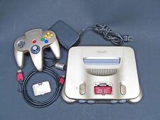 UltraHDMI upgraded Gold N64 Nintendo console lot