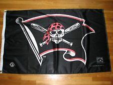 New listing Large Pittsburgh Pirates Jolly Roger Flag Baseball Bats Skull Banner 3X5 feet