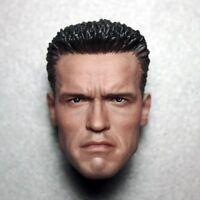 1/6 Scale Arnold Schwarzenegger Head Model Sculpt For 12' HT Phicen Body Figure
