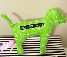 Victoria'S Secret Pink Pelotonia 2011 Plush Dog Full Size Green Color New