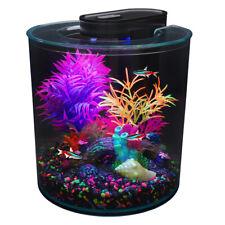 Marina iGlo 360 Aquarium Fish Tank Starter Kit 10L with LED Lighting Fluorescent