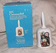 1973 Schmid Christmas Xmas Bell Sister Berta Hummel Nativity w/ Box West Germany